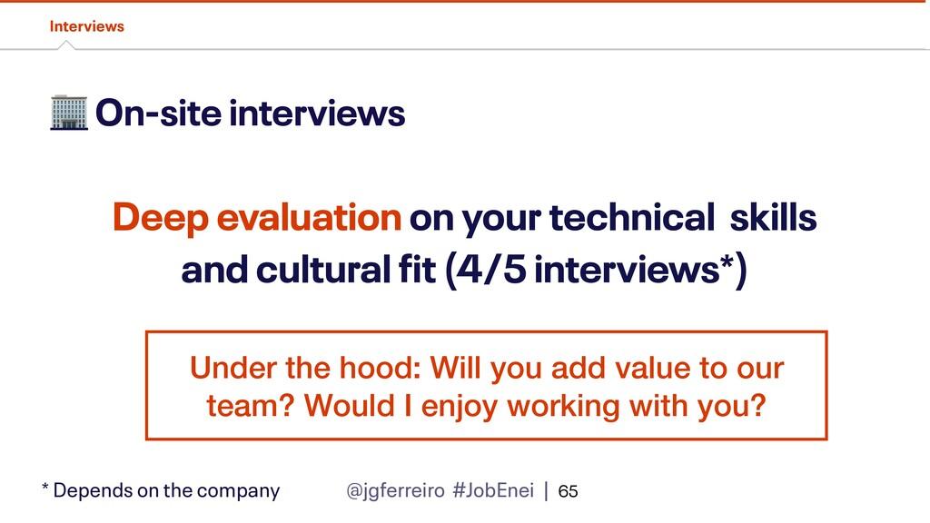 @jgferreiro #JobEnei |  On-site interviews Inte...