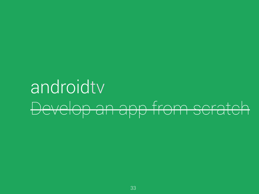 androidtv Develop an app from scratch 33