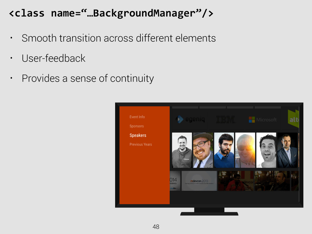 "48 <class name=""…BackgroundManager""/> • Smoo..."