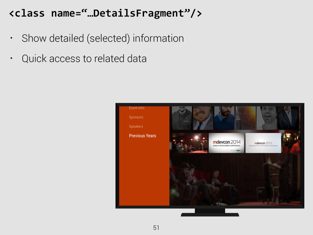 "51 <class name=""…DetailsFragment""/> • Show d..."