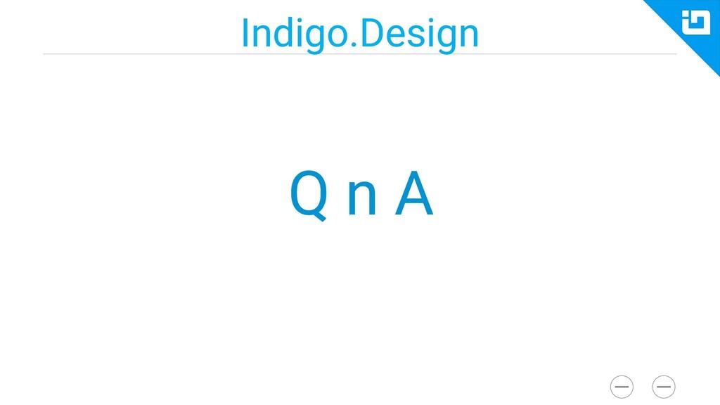 Indigo.Design Q n A