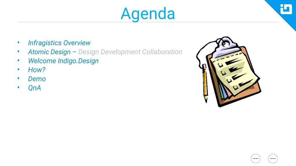 Agenda • Infragistics Overview • Atomic Design ...