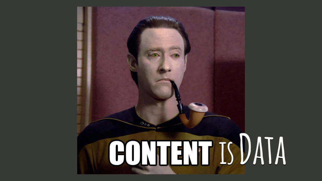 is Data