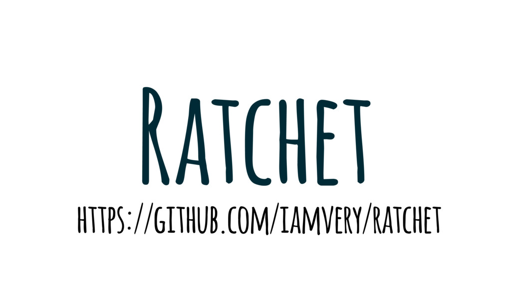 Ratchet https://github.com/iamvery/ratchet