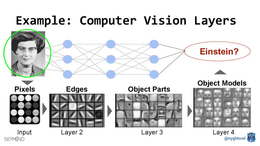 @nyghtowl Einstein? Example: Computer Vision La...