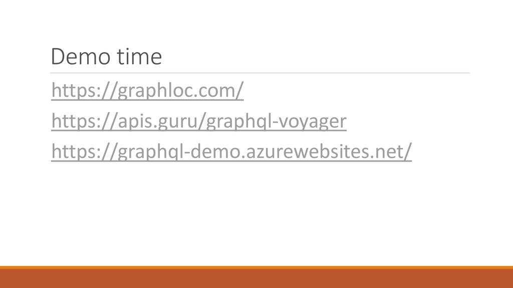 Demo time https://graphloc.com/ https://apis.gu...