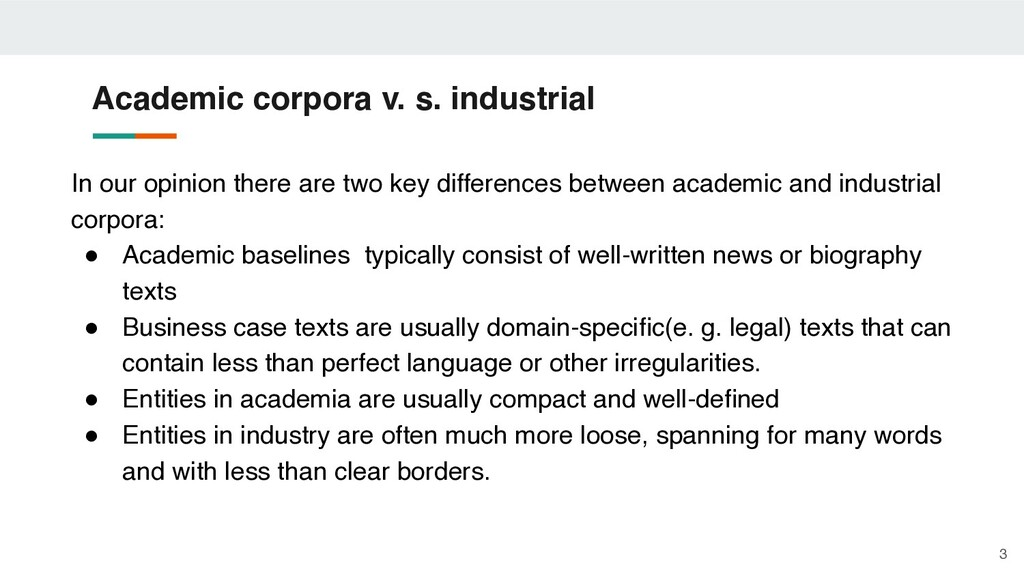 In our opinion there are two key differences be...