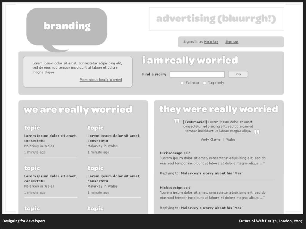 Designingfordevelopers FutureofWebDesign,...