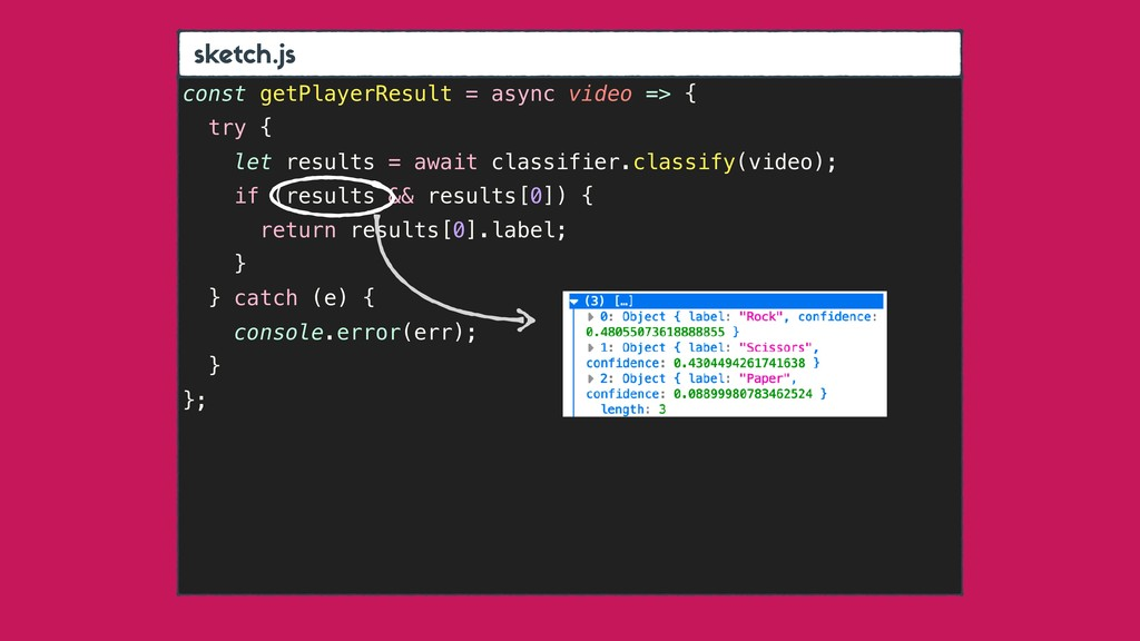sket h.js const getPlayerResult = async video =...