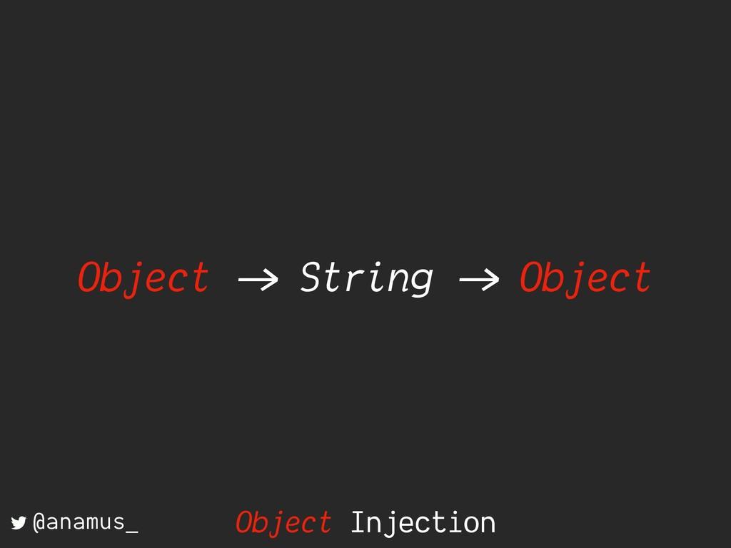 """Object ->"""" String ->"""" Object @anamus_ Object In..."""