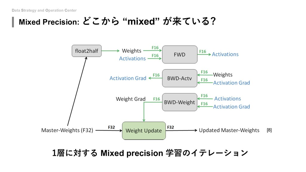 Data Strategy and Operation Center 1層に対する Mixed...