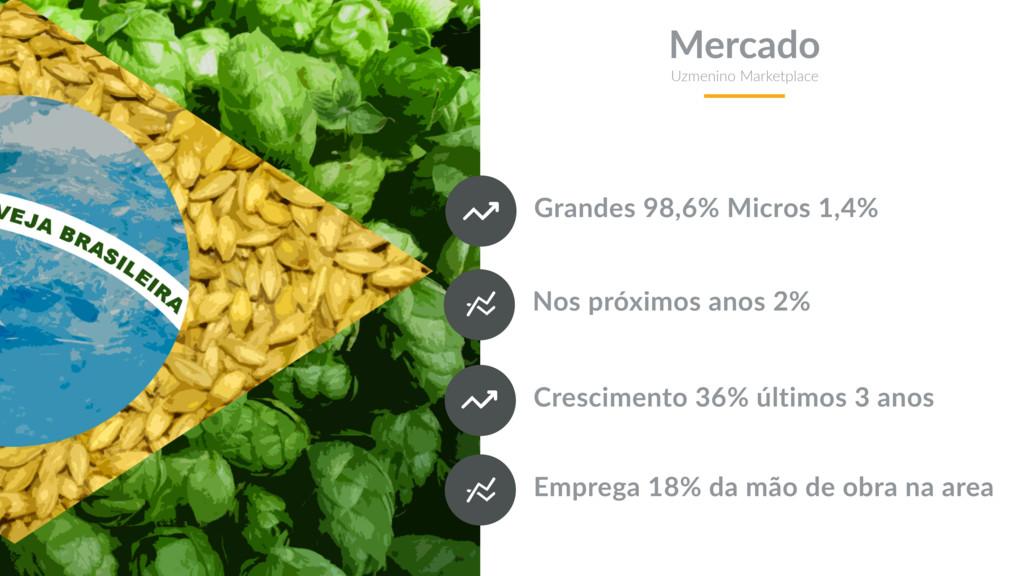 Grandes 98,6% Micros 1,4% Mercado Uzmenino Mark...