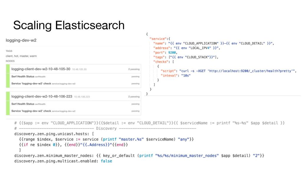 Scaling Elasticsearch