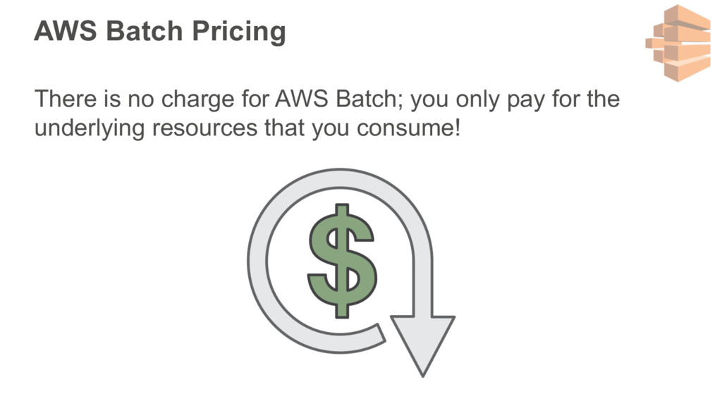 AWS Batch Pricing There is no charge for AWS Ba...