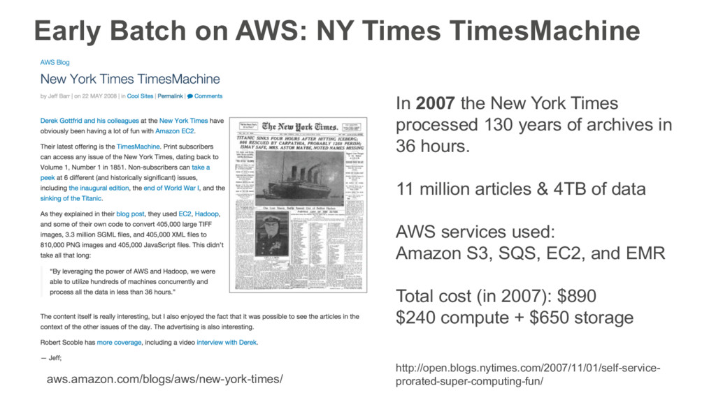 Early Batch on AWS: NY Times TimesMachine aws.a...