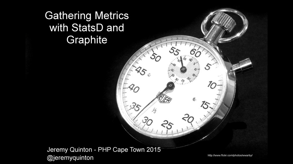 Gathering Metrics with StatsD and Graphite http...