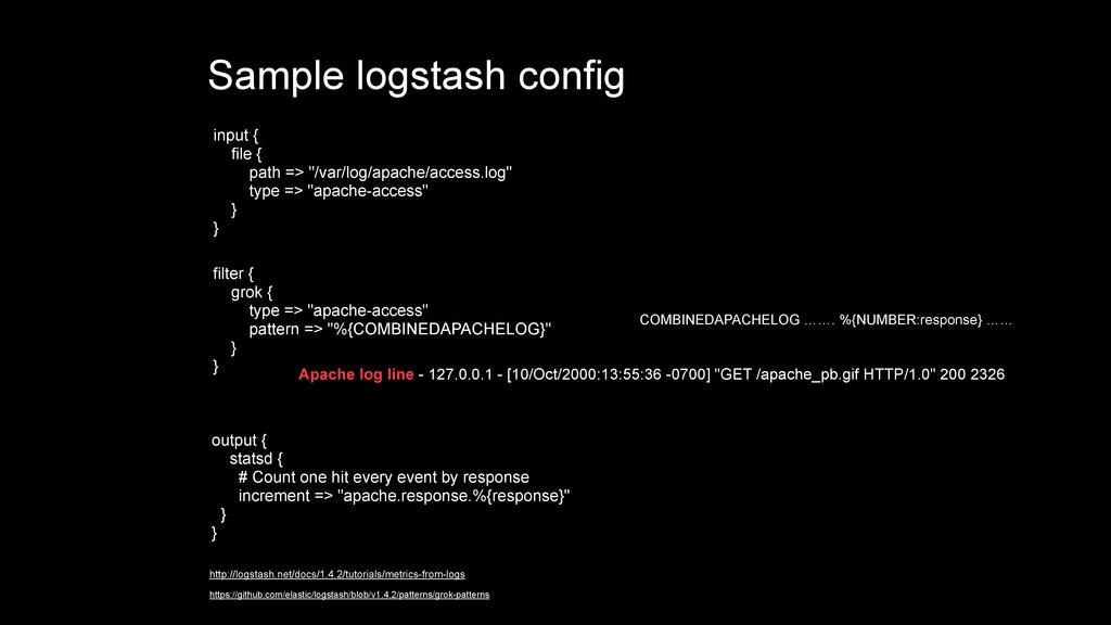"input { file { path => ""/var/log/apache/access...."