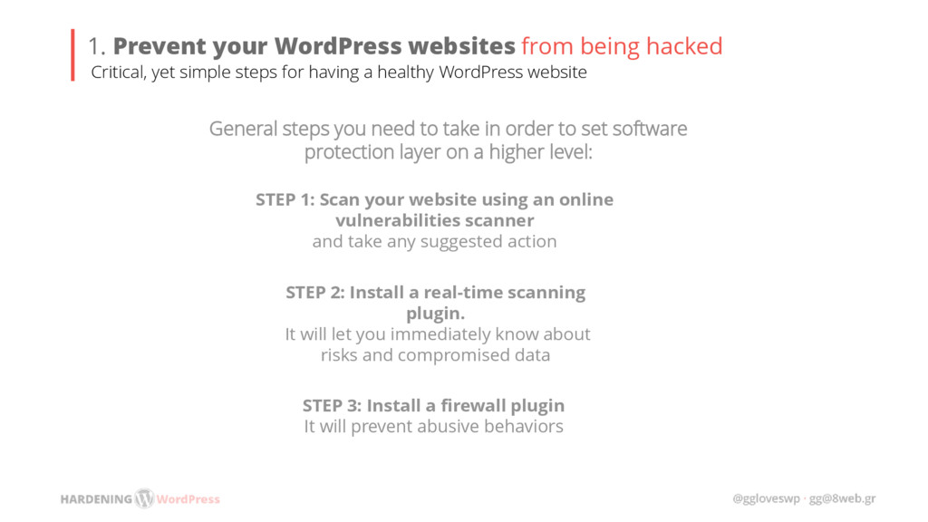 STEP 1: Scan your website using an online vulne...