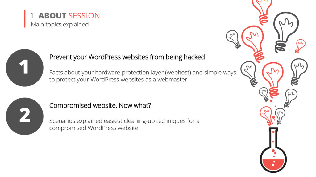 1. ABOUT SESSION 1 Prevent your WordPress websi...