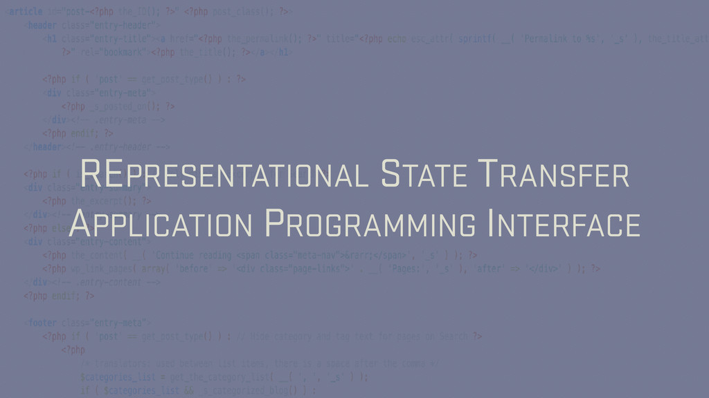 REPRESENTATIONAL STATE TRANSFER APPLICATION PRO...