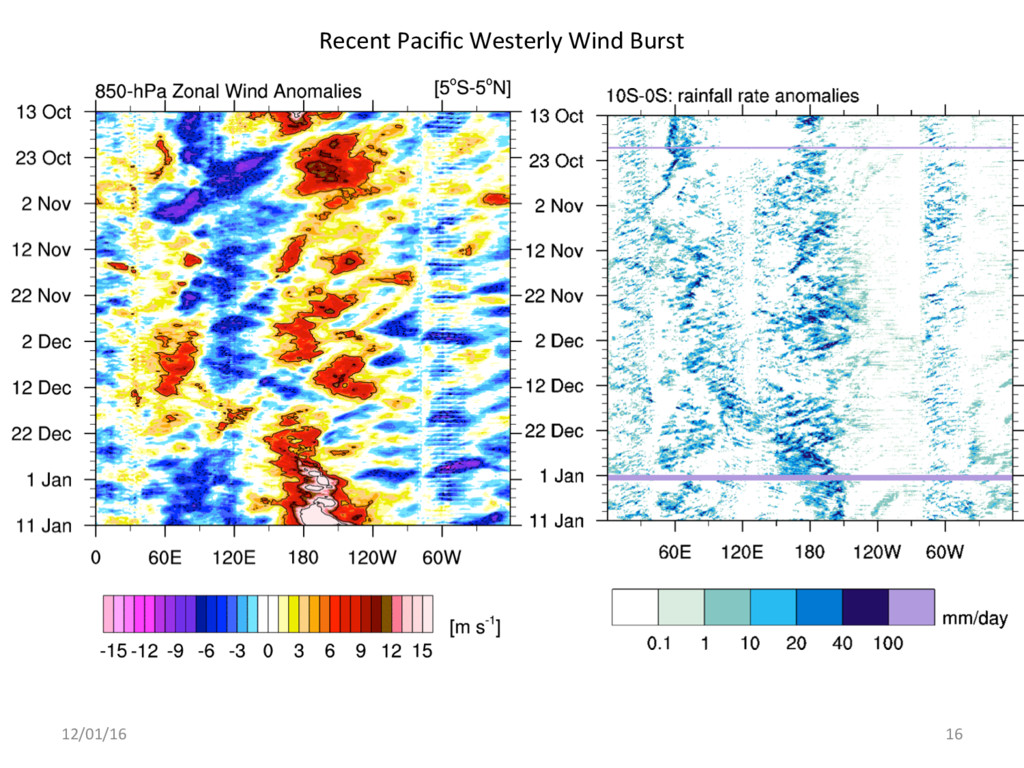 12/01/16 16 Recent Pacific Westerly Wind Burst