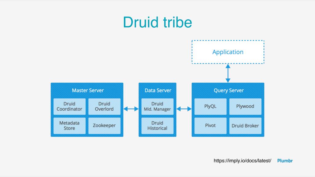 Druid tribe https://imply.io/docs/latest/
