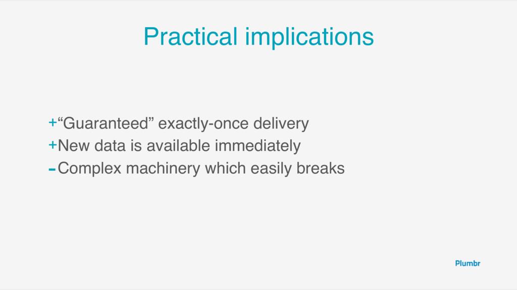 "Practical implications +""Guaranteed"" exactly-on..."