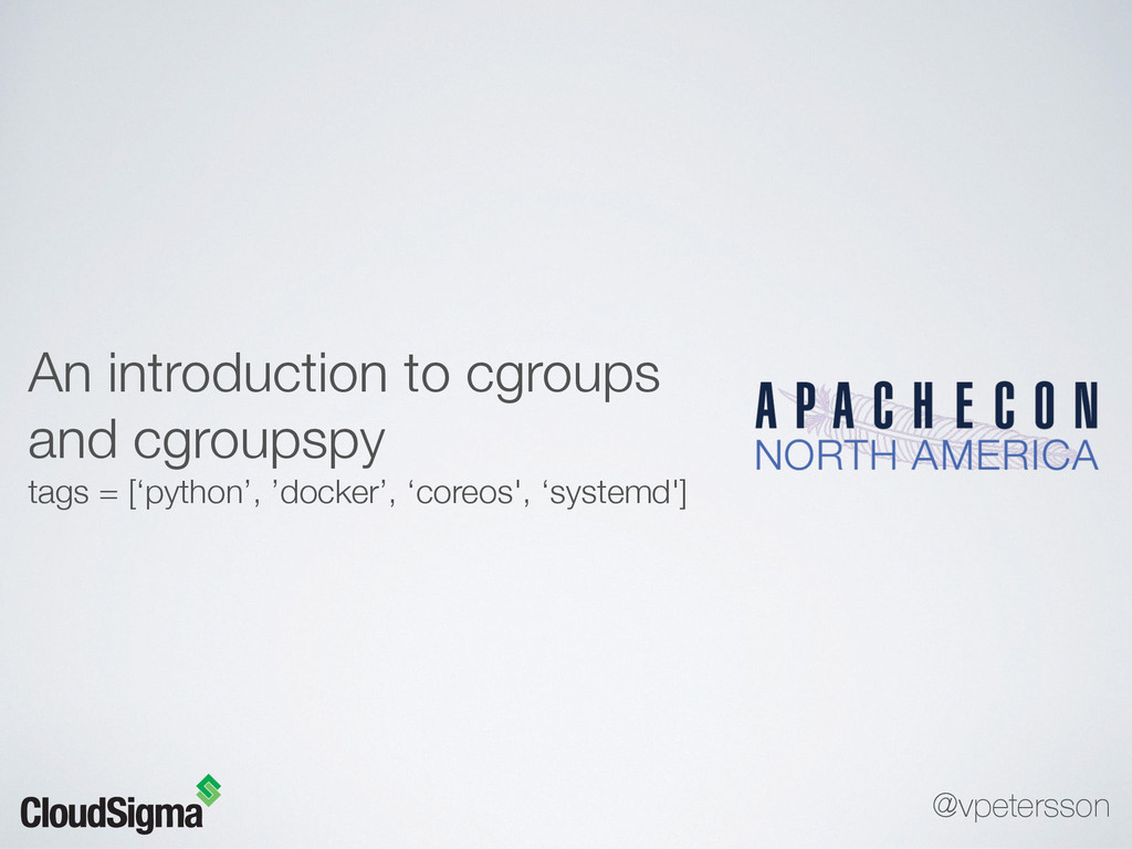 An introduction to cgroups and cgroupspy tags =...