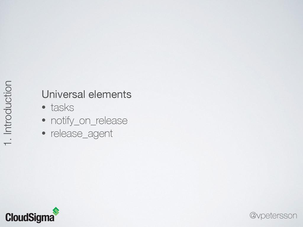 Universal elements  • tasks • notify_on_release...
