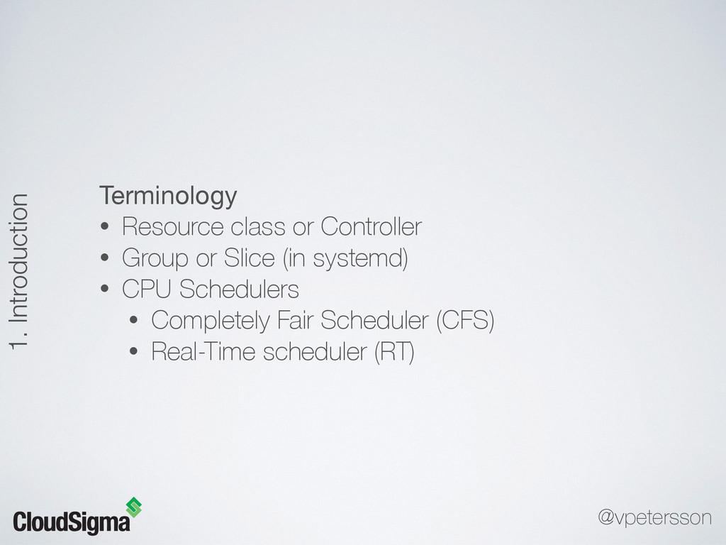 Terminology  • Resource class or Controller • G...