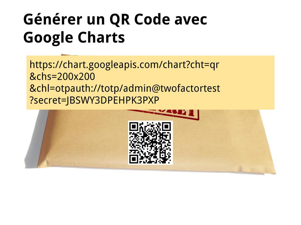 Générer un QR Code avec Google Charts https://c...