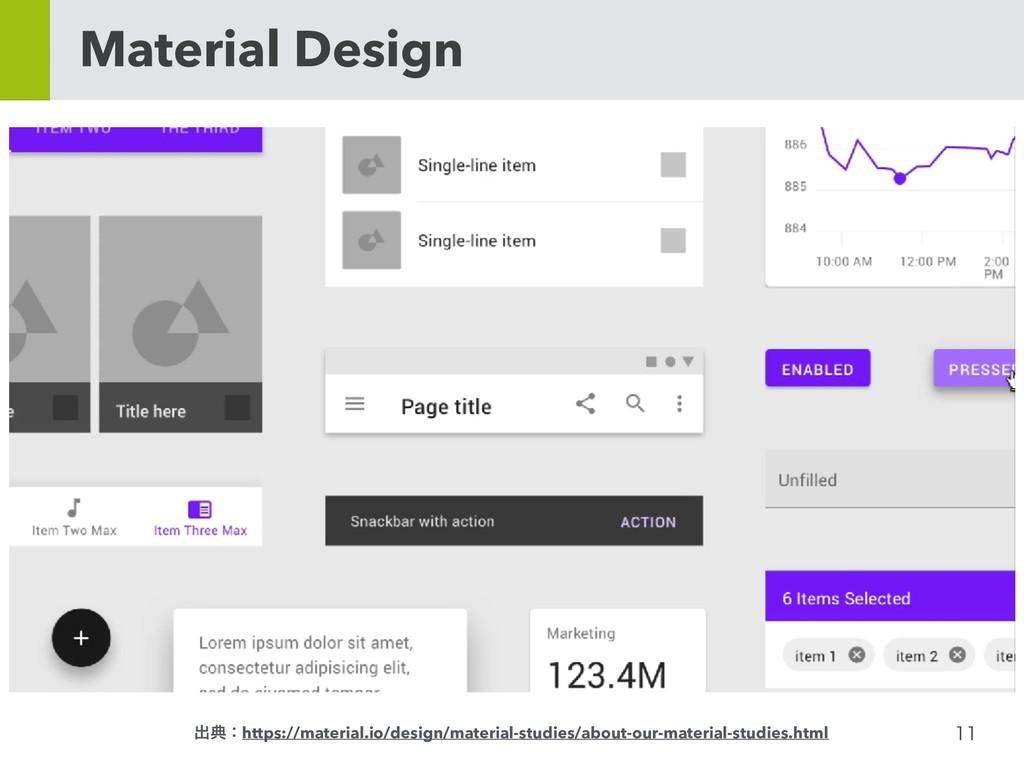 Material Design ग़యɿhttps://material.io/des...