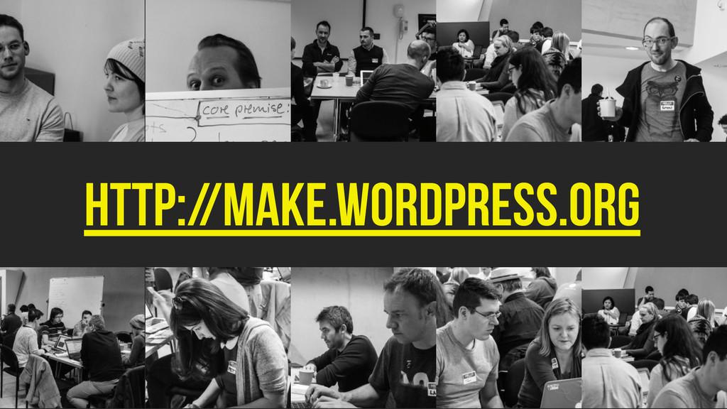 http://make.wordpress.org