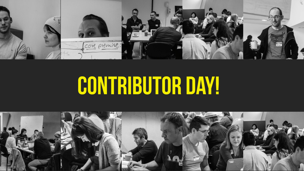 Contributor day!