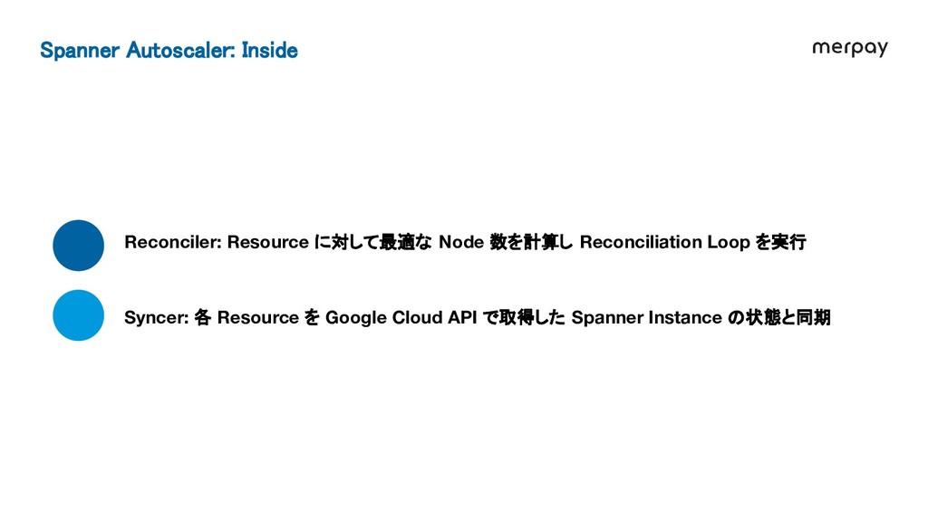 Reconciler: Resource に対して最適な Node 数を計算し Reconci...