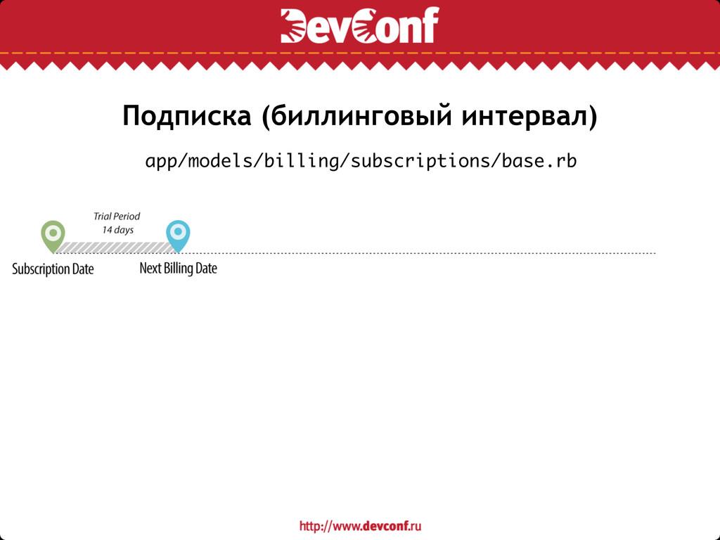 Подписка (биллинговый интервал) app/models/bill...
