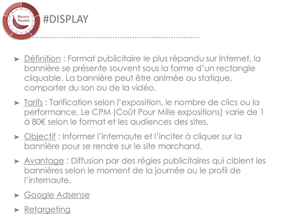 #DISPLAY ➤ Définition : Format publicitaire le ...