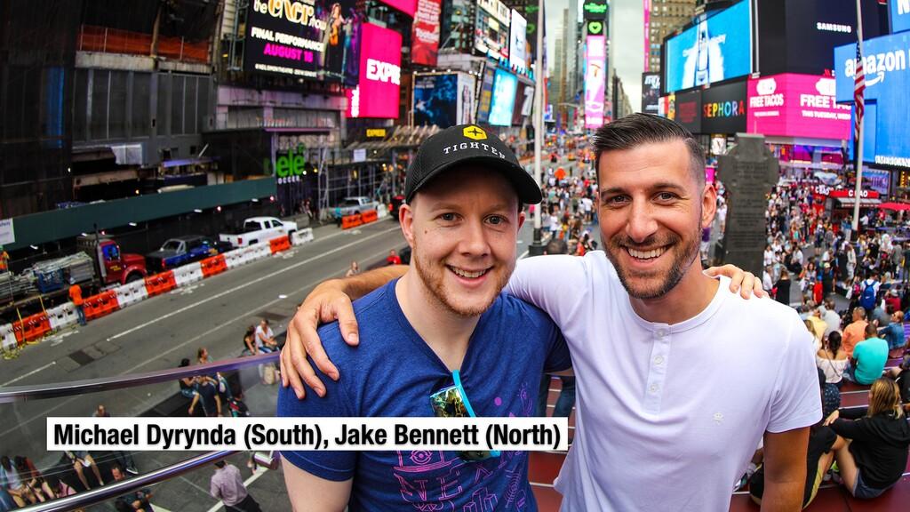 Michael Dyrynda (South), Jake Bennett (North)