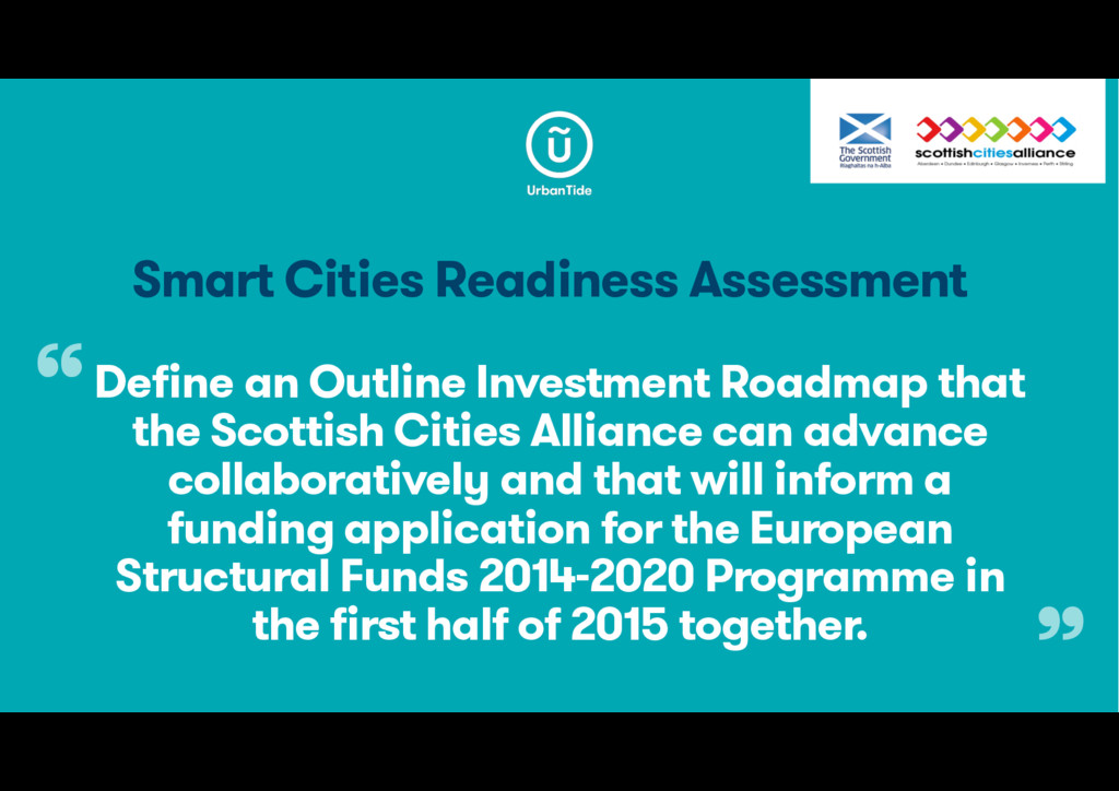 Smart Cities Readiness Assessment Define an Out...
