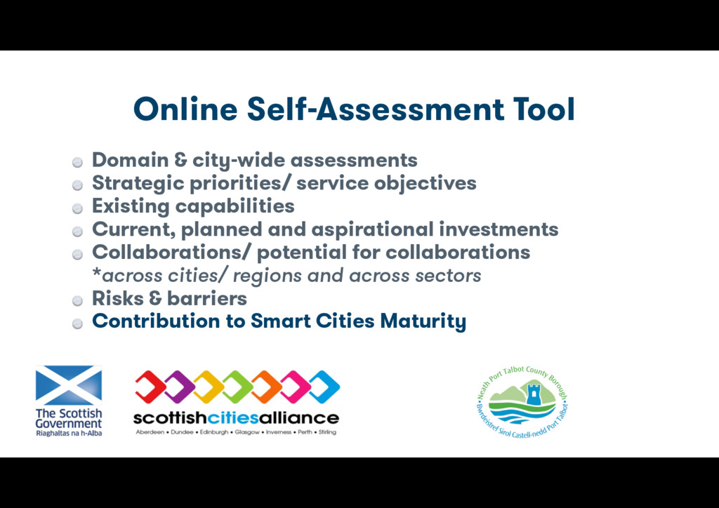Online Self-Assessment Tool Domain & city-wide ...