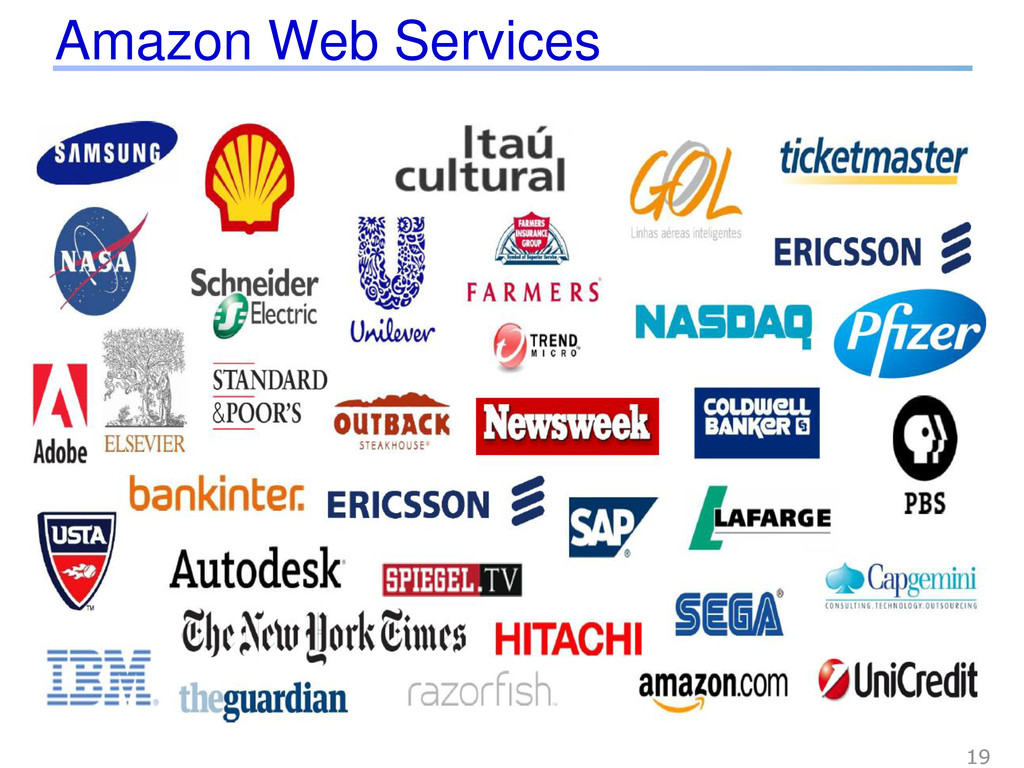 Amazon Web Services 19