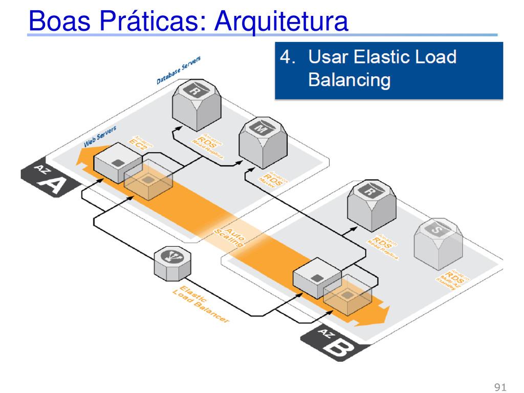 Boas Práticas: Arquitetura 91