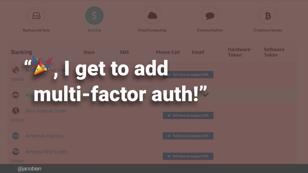"@jacobian "", I get to add