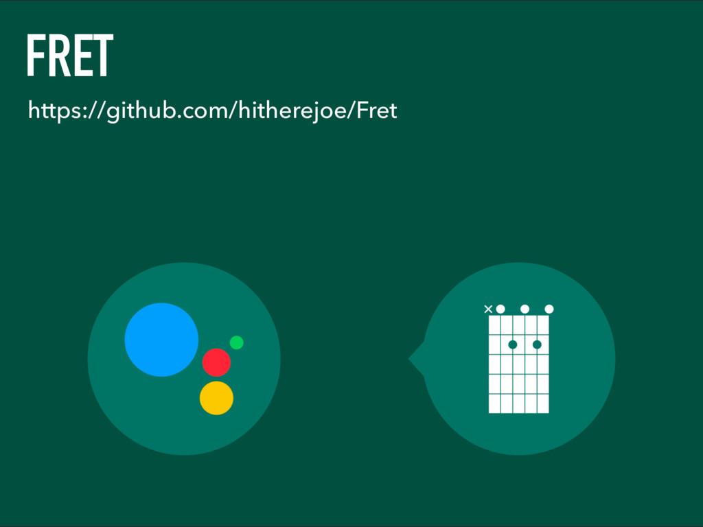 FRET https://github.com/hitherejoe/Fret