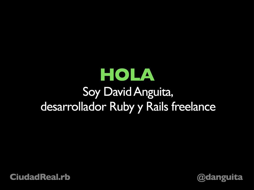 @danguita CiudadReal.rb HOLA Soy David Anguita,...