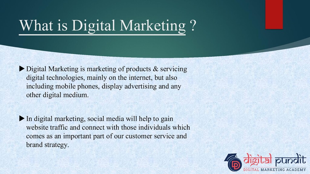 What is Digital Marketing ? Digital Marketing ...
