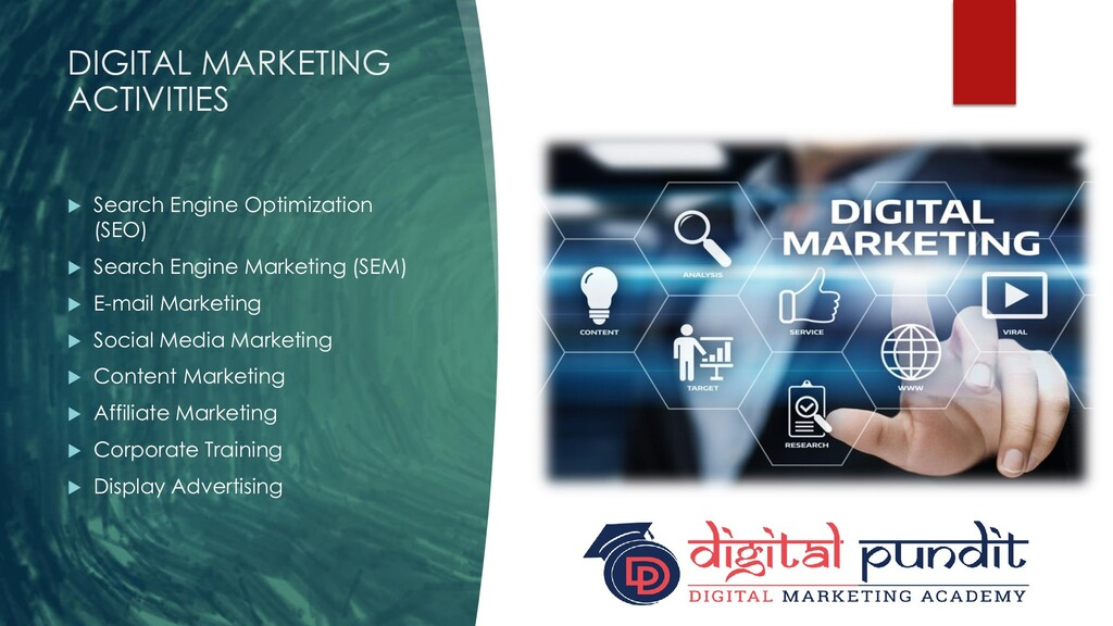 DIGITAL MARKETING ACTIVITIES  Search Engine Op...