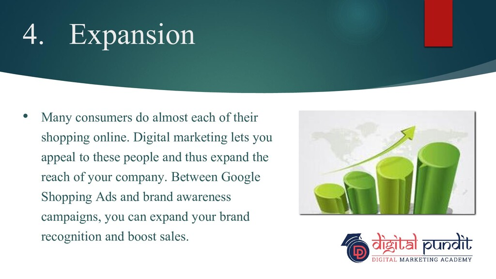4. Expansion • Many consumers do almost each of...