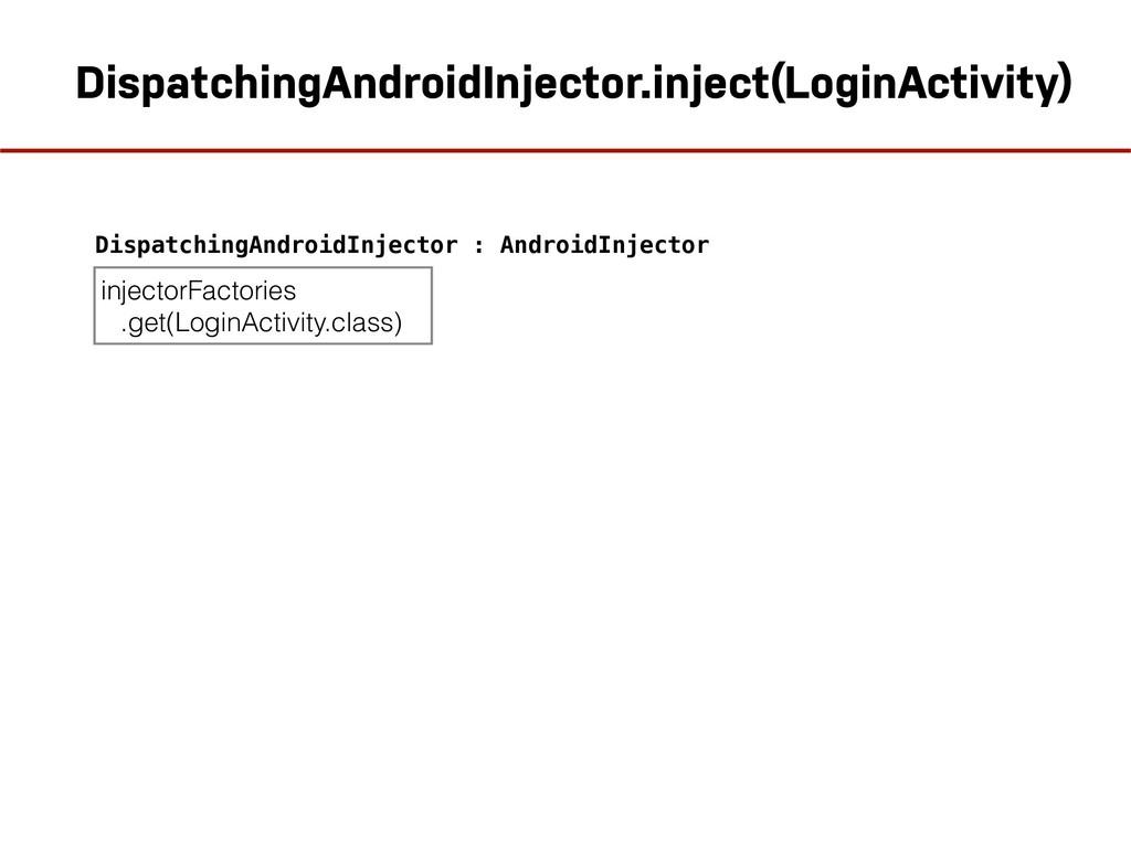 DispatchingAndroidInjector.inject(LoginActivity...