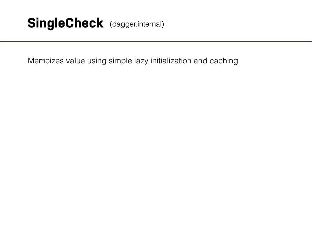 SingleCheck Memoizes value using simple lazy in...
